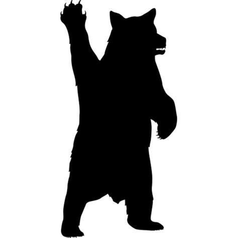 bear silhouette www pixshark com images galleries with a bite