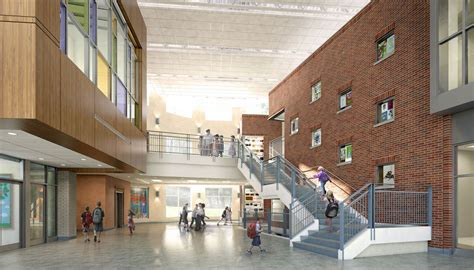 west towson elementary architectural  rendering