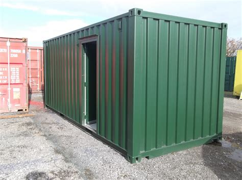container bureau location 20ft shipping container converted into office