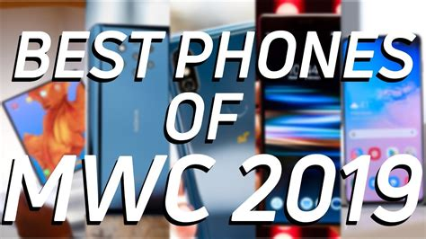 the best phones of mwc 2019