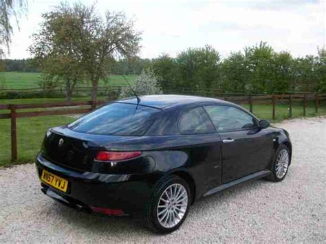 alfa romeo   gt lusso jtd coupe diesel leather manual
