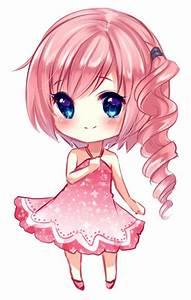 Cutest chibi ever! Love the pink hair! | Anime art ...