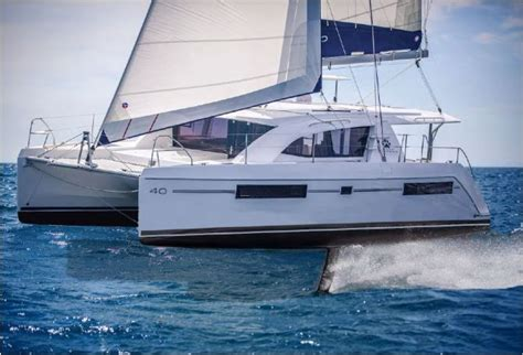 Gunboat G4 Catamaran Capsize by Gunboat G4 A Cruising Cat That Flies Literally Sailfeed