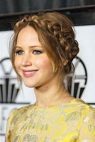 Jennifer Lawrence Updo Hairstyles