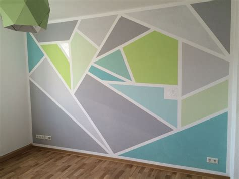 geometric wall paint wall graphic room wall painting geometric wall geometric wall paint