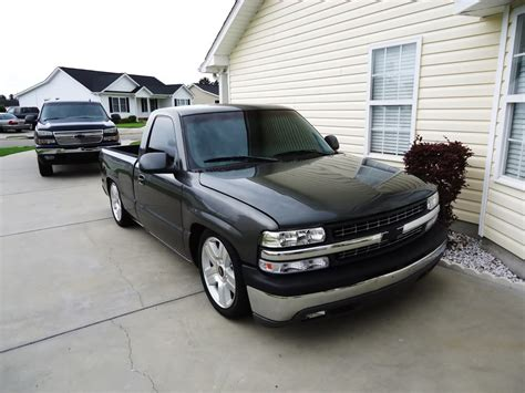 2008 chevy silverado 6 8 dropped on 24 in intro flow 99 rcsb grey silverado lowered 5 8 drop on brand new