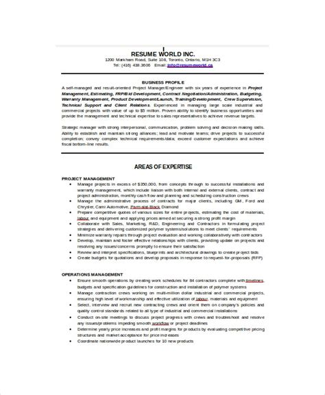 sample  resume templates    premium