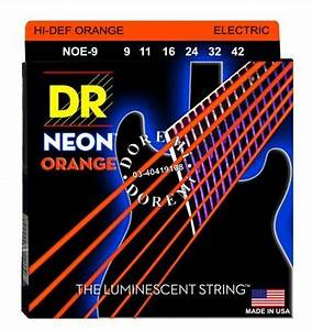DR Strings DR Neon Orange 9 Muziker SK