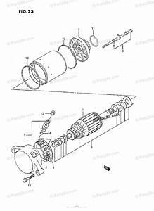 Suzuki Atv 1994 Oem Parts Diagram For Starting Motor