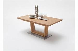 Table Extensible Bois Massif : table repas bois massif 180 270 cm extensible cbc meubles ~ Teatrodelosmanantiales.com Idées de Décoration