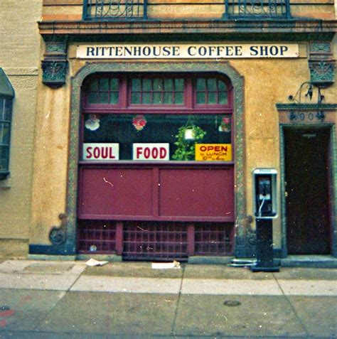 However, even if you're as ignorant about coffee as i am, there is another definite advantage to the philly coffee scene: Rittenhouse Coffee Shop, Philadelphia, 1992 | (G)REENWICH ...