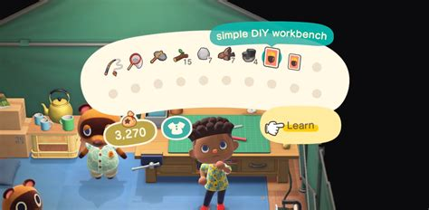 craft  animal crossing  horizons tips