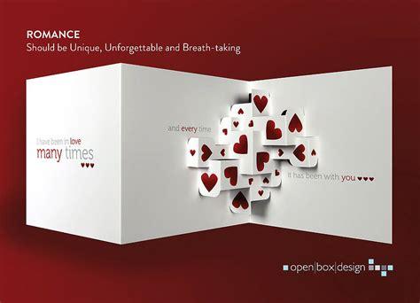 love    card  open box design
