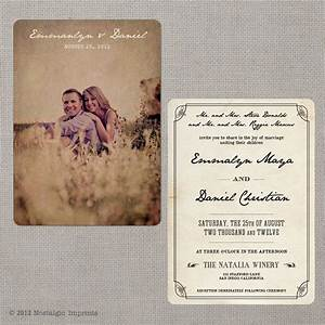 Vintage invitations vintage announcements invites party for Vintage email wedding invitations