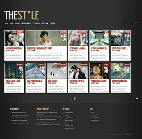 20+ Best Pintereststyle Wordpress Themes 2019 Athemes