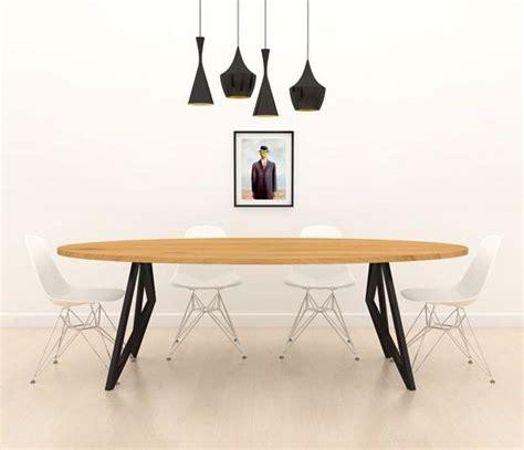 eiken tafel zwart maken massief eiken butterfly tafel ovaal zwart frame unieke
