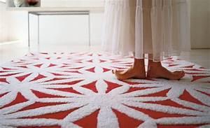 tapis pour chambre original et design With tapis rouge avec canapé moroso