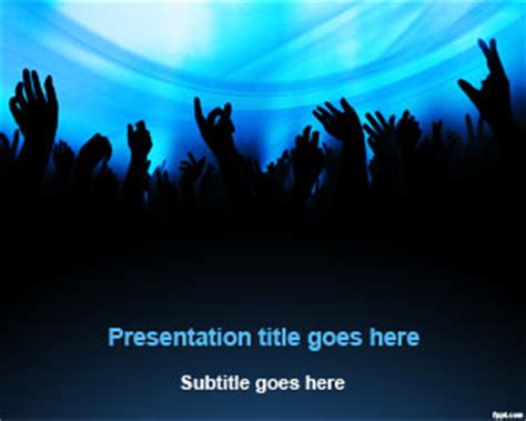 dj entertainment powerpoint template