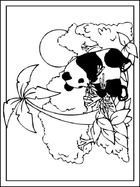 Kleurplaat Pandabeer by 1994 Gif