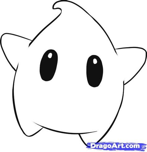 draw luma step  step video game characters pop