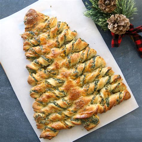 christmas tree spinach dip breadsticks it s always autumn