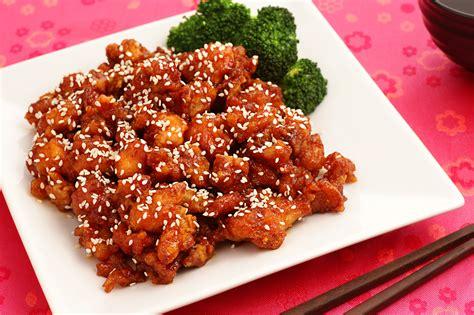 sesame chicken chinese sesame chicken with garlic and chili paste