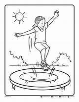 Trampoline Coloring Pages Printables Bendonpub Friday Follow Link Colouring Below Sheets Jumping Template Printable Print Cow Sketch Pdf Upload Bendon sketch template