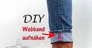 Unsichtbaren Saum Nähen : diy webband auf saum n hen mondg ttin ~ Yasmunasinghe.com Haus und Dekorationen