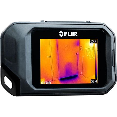 used flir thermal flir compact thermal imaging system c2 the home depot