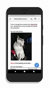 google docs for android clintonfitchcom With google docs for android review
