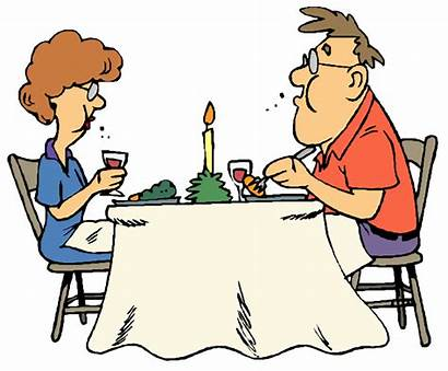 Dinner Table Clipart Dining Eating Eat Sit