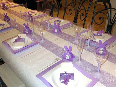 deco de table bapteme  pour table pictures awesome