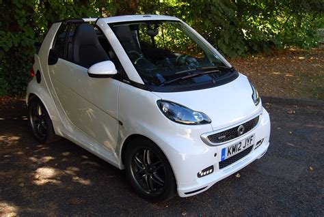 Smart Fortwo Brabus Cabrio Technical Details History