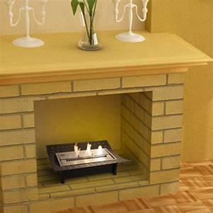 cheminee bioethanol de table ada With meuble sous lavabo avec pied 15 tableau trois panneaux fleurs