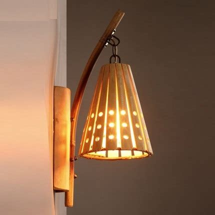 bamboo wall light sconce l antique ls vintage