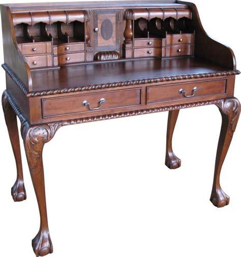 bureau louis philippe mahogany chippendale escritoire desk dsk011 lock stock
