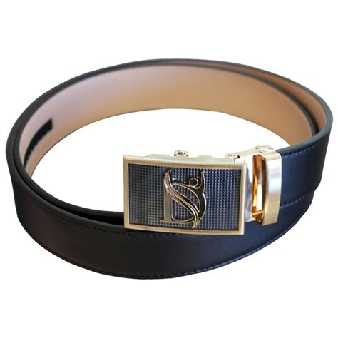 negative ion sport belt  genuine leather  buckle