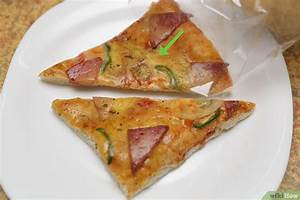 Pizza In Der Mikrowelle : tagealte pizza in der mikrowelle wieder frisch machen wikihow ~ Buech-reservation.com Haus und Dekorationen