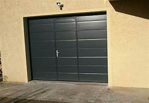 ou acheter une porte de garage sectionnelle sur mesure With acheter porte de garage