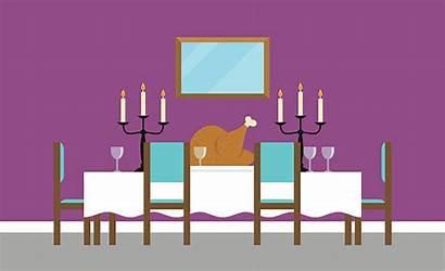 Dining Empty Background Vector Clip Illustration Illustrations