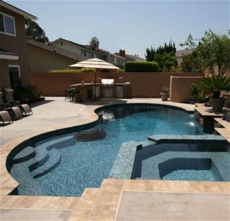 spectacular pool spa design mixes and