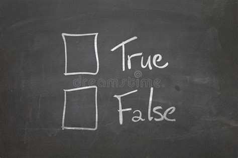 wahr oder falsch kostenlos tafel mit dem text wahr oder falsch stockfoto bild kunst 50712746