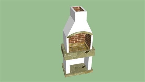 brick barbeque plans howtospecialist   build