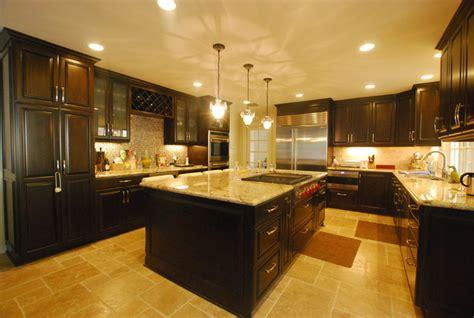 luxury kitchen remodel kitchen island  wine bar