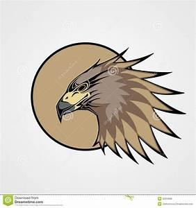 Hawk stock vector. Image of flying, element, bird ...