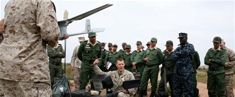 Scaled Down US-Morocco War Games Resume