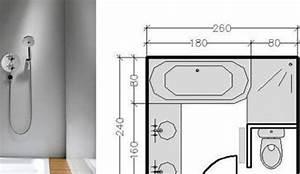 amenagement salle de bain 6m2 7 plan salle de bain 6m2 With plan salle de bain 6m2