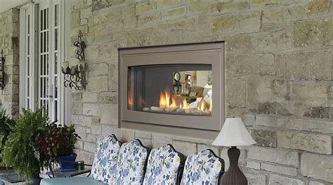 inside outside fireplace indoor outdoor gas fireplace fireplace design ideas
