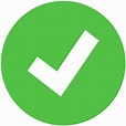 File:Check green icon.svg - Wikimedia Commons
