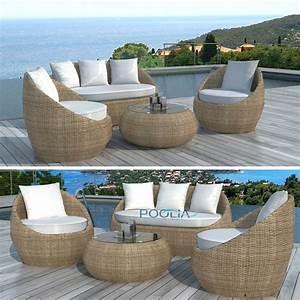 Salon De Jardin Rond : best salon de jardin fauteuil rond contemporary awesome ~ Dailycaller-alerts.com Idées de Décoration